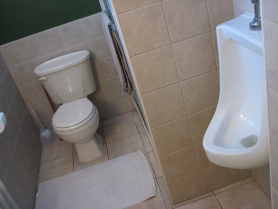 In-home urinal.